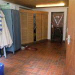 Sanitäranlagen im Kellergeschoss unseres Clubhauses